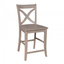 Cosmopolitan Salemo Stool : Weathered Gray