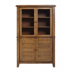 Canyon hutch (Built) - Pecan Finish