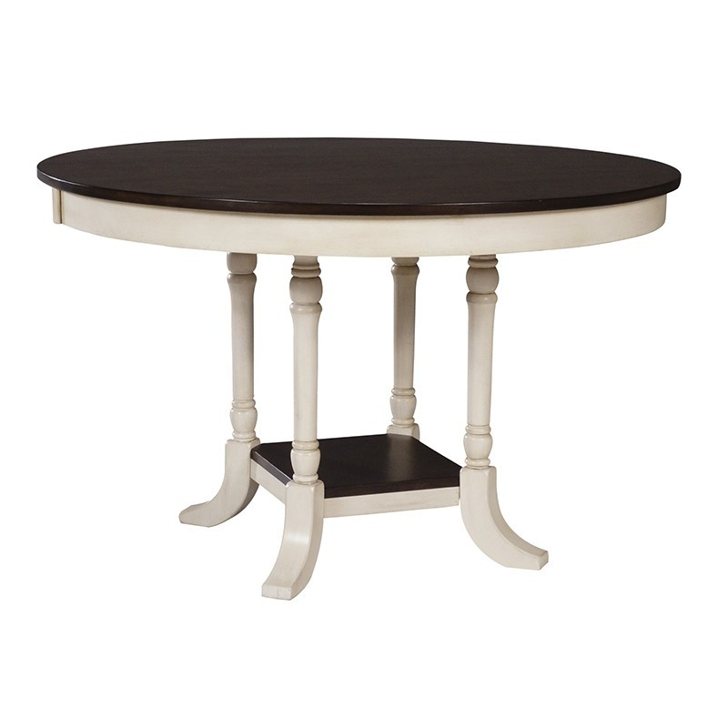 Camden 48 round top dining table for Dining room table 36 x 48