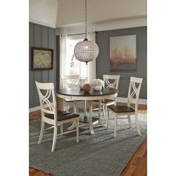 Camden round dining table