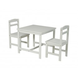 3 Piece Juvenile Set (Table and 2 Chairs)