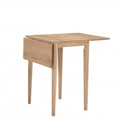 Small Drop Leaf Table 18x22x36 (leaves up)