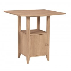 "Dropleaf Bistro Table 36"" High"