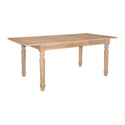 Butterfly Leaf Extension Table with Turned Legs