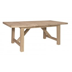 Athena Table With Self Storing Leaf 40x68x84
