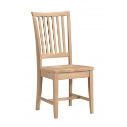 Mission Chair with Wood Seat