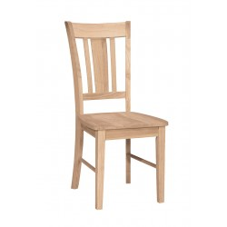 San Remo Chair with Wood Seat (RTA)