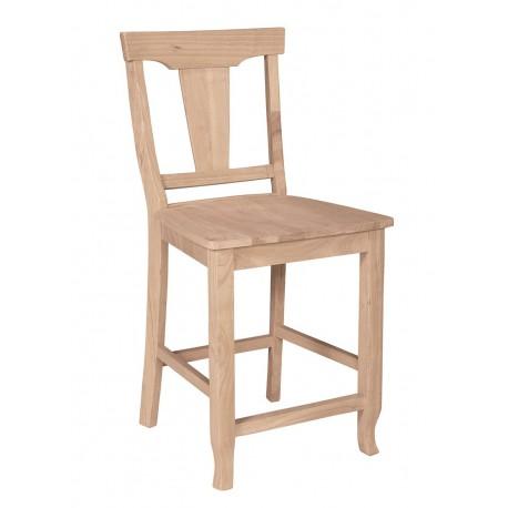 Arlington Stool with Wood Seat