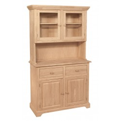 Two Door Hutch for Two Door Buffet