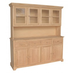 Four Door Hutch, goes with B-4