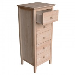 Brooklyn 5 Drawer Lingerie Chest