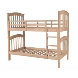 Solid Wood Unfinished Bunk Bed
