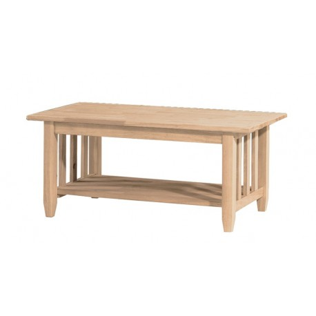 Mission Coffee Table (RTA)