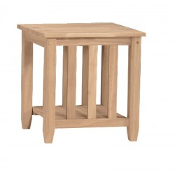Mission End Table (RTA)