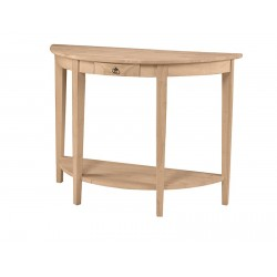 Half Moon Console Table