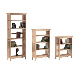 "Mission Bookcase 30"" Wide, 36"",48"" or 72"" High"