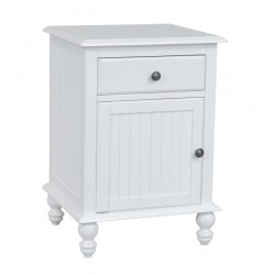 Cottage 1 Drawer Door Nightstand