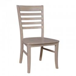 Cosmopolitan Roma Chair : Weathered Gray