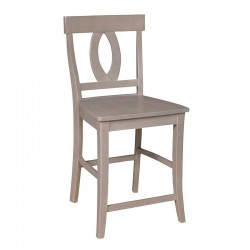 Cosmopolitan Verona Stool : Weathered Gray