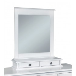 Cottage Mirror Base with Two Drawers