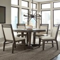 """Luxe 48"""" Round Dining Set"""