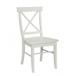 Simply Linen Cross Back Chair