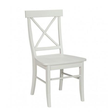 Simply Linen Cross Back Chair