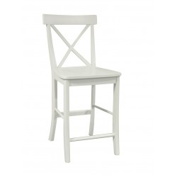 Simply Linen Cross Back Stool