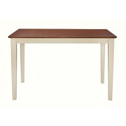 "30""x48"" Solid Top Dining Table"