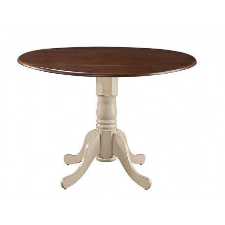 "Dining Essential: 42"" Round Top Drop Leaf table"