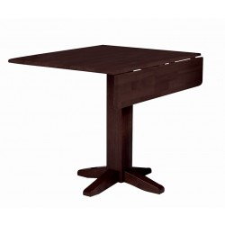 "Dining Essential: 36"" Square Top Drop Leaf Table"