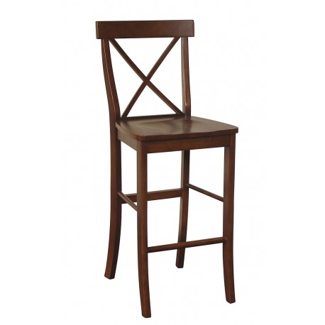Dining Essentials: Cross Back Bar Stool