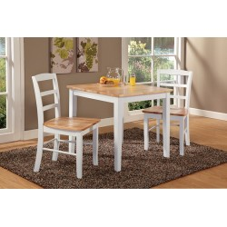 """Dining Essentials: 30"""" Square Table and Two Madrid Chairs"""