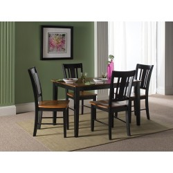 Dining Essentials: Shaker 30x48 Table and San Mero Chairs