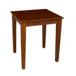 Shaker End Table in Espresso Finish