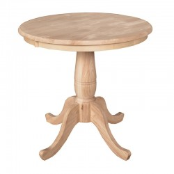 Build Your own Pedestal Table (30-42) - Unfinished