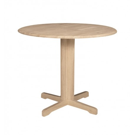 """36"""" Round Dropleaf Table T-36RP"""