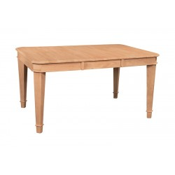 Tuscany Butterfly Leaf Extension Dining Gathering Table 40x40x58