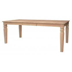 Java Butterfly Leaf  Extension Dining Table 40x60x78