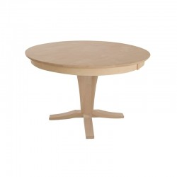 "45"" Round Solid Top Pedestal Table"