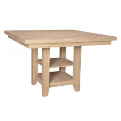 "Canyon High Top Extension Table with 36"" high Pedestal"