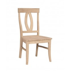 Verano Chair With Wood Seat