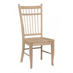 Birdcage Chair with Wood Seat