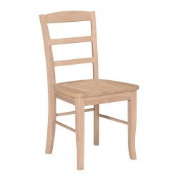 Madrid Side Chair with Wood Seat