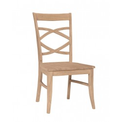 Milano Chair with Wood Seat