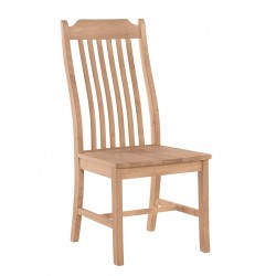 Steambent Mission Chair with Wood Seat