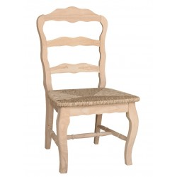 Versailles Chair with Wood Seat