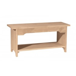 "Bookstone Bench 36"" Wide"