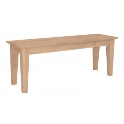 "47"" Wide Shaker Bench"