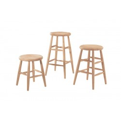 Scoop Seat Stool (Built)
